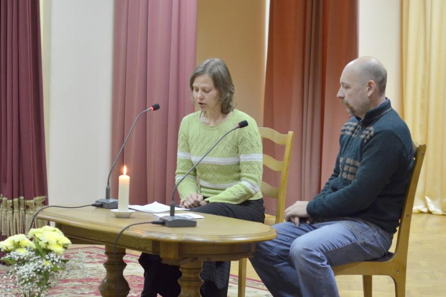 Выступление Марины Анисимовой
