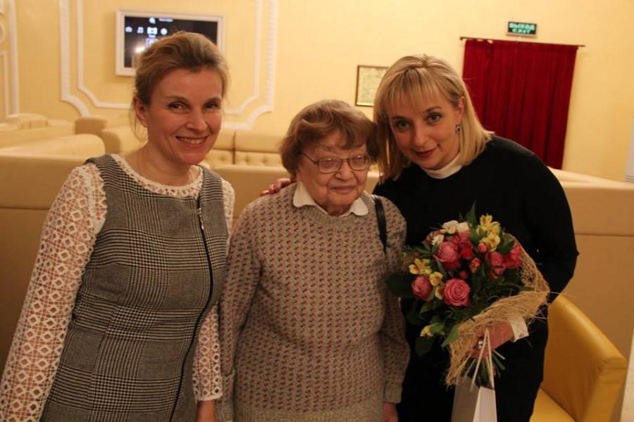 Дарья Виолина со зрителями