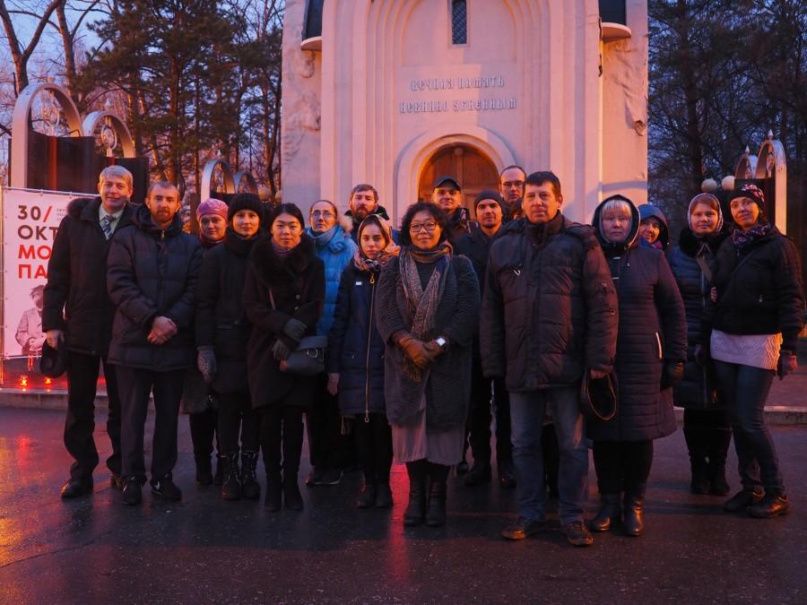 Молитва памяти: Хабаровск