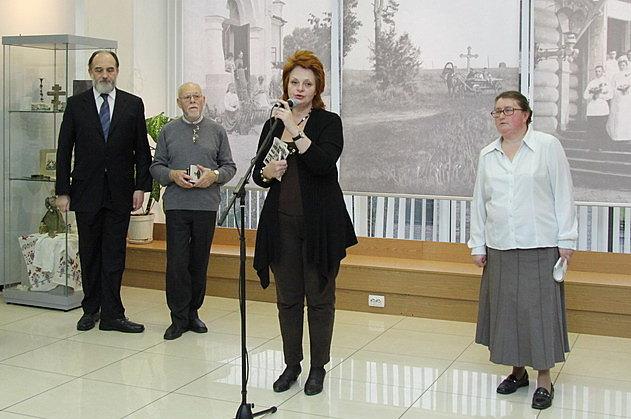 Слева направо: А.Копировский, Е.Рашковский, Т.Феоктистова, С.Чукавина