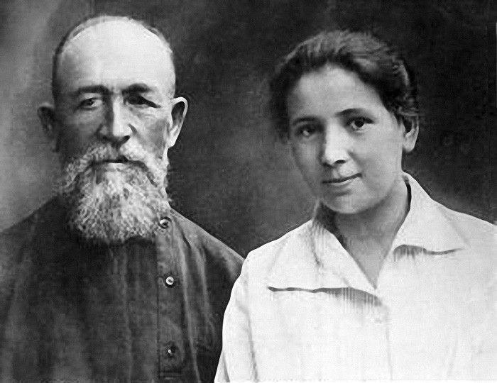 А.Д. Самарин с дочерью Елизаветой в Якутии