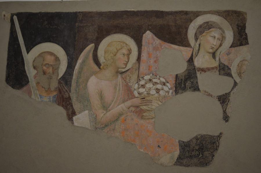 Маэста, Липпо Мемми, 1317. Национальная пинакотека в Сиене