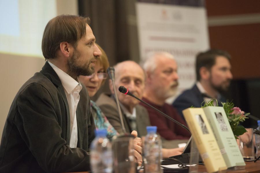 Кирилл Анатольевич Мозгов, ведущий презентации, руководитель издательства Культурно-просветительского фонда «Преображение»