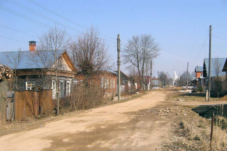 Фото 6. Улица в г. Малоярославце, на которой жила семья Шик