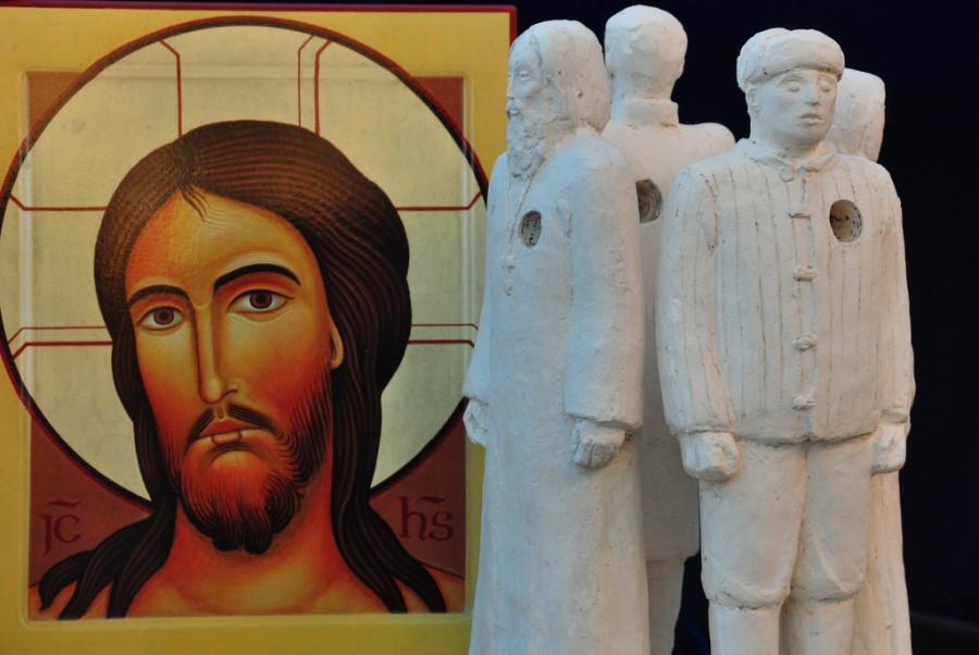 Cкульптура Эльзы Пак, заслуженного деятеля искусств, члена братства во имя Силуана Афонского