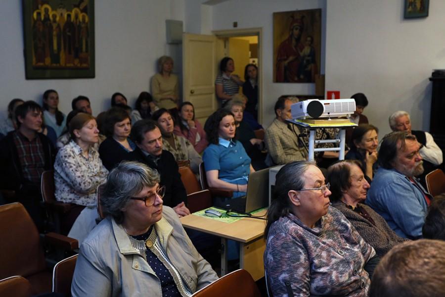 Вечер памяти о. Константина Аггеева в СФИ