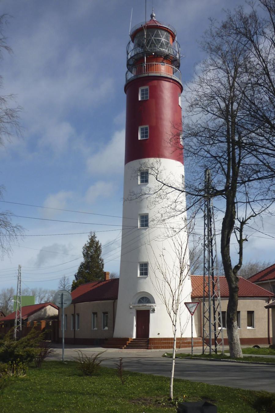 Маяк Пиллау – самый западный маяк России