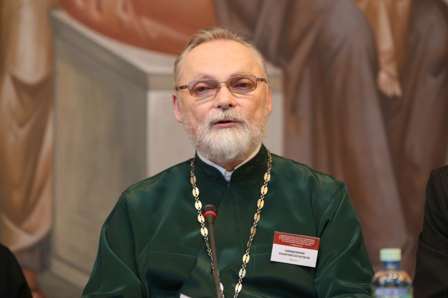 Father Georgy Kochetkov, Rector of Saint Philaret's Institute and Founder of the Transfiguration Fellowship of Minor Orthodox Brotherhoods