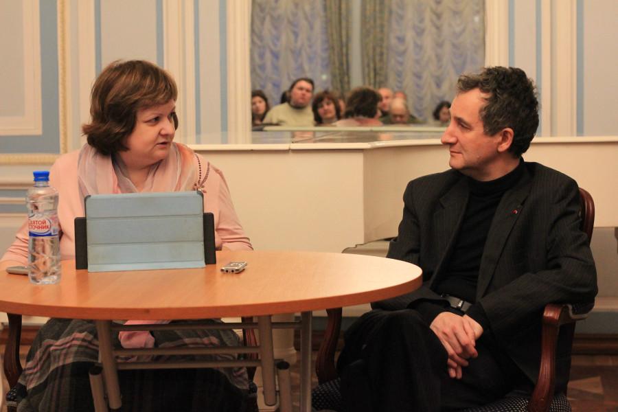 Наталия Игнатович и Олег Щербачев