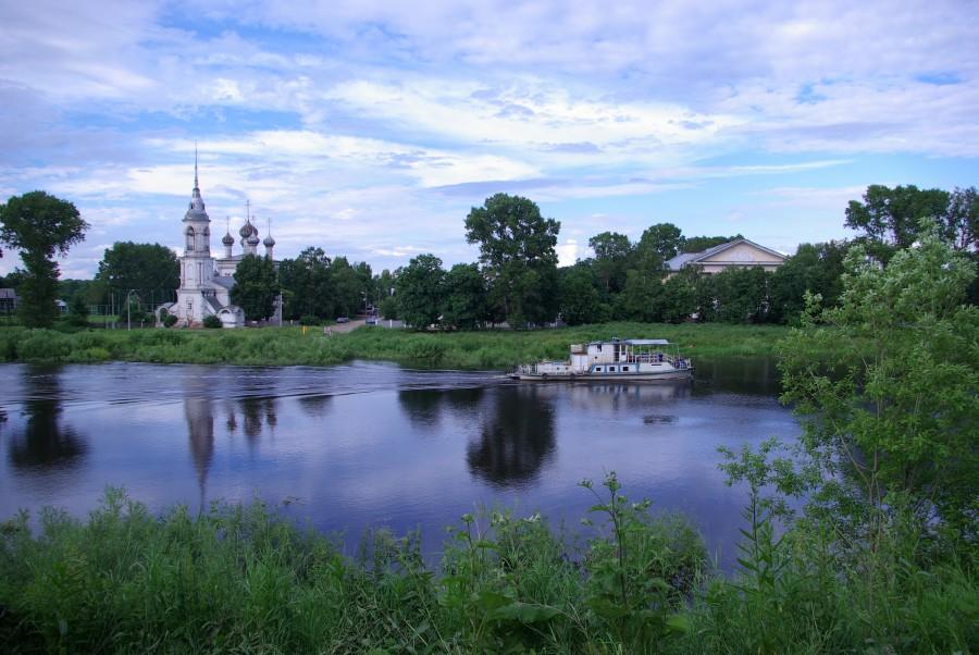 Берег реки Вологда