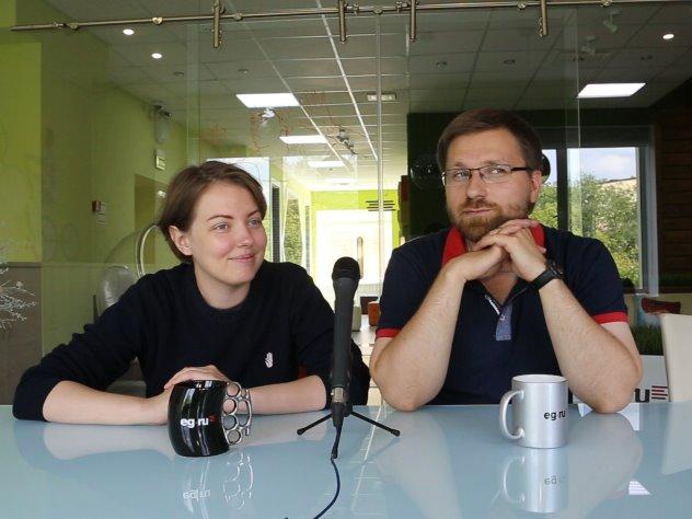 Татьяна Скрабанская и Андрей Васенев