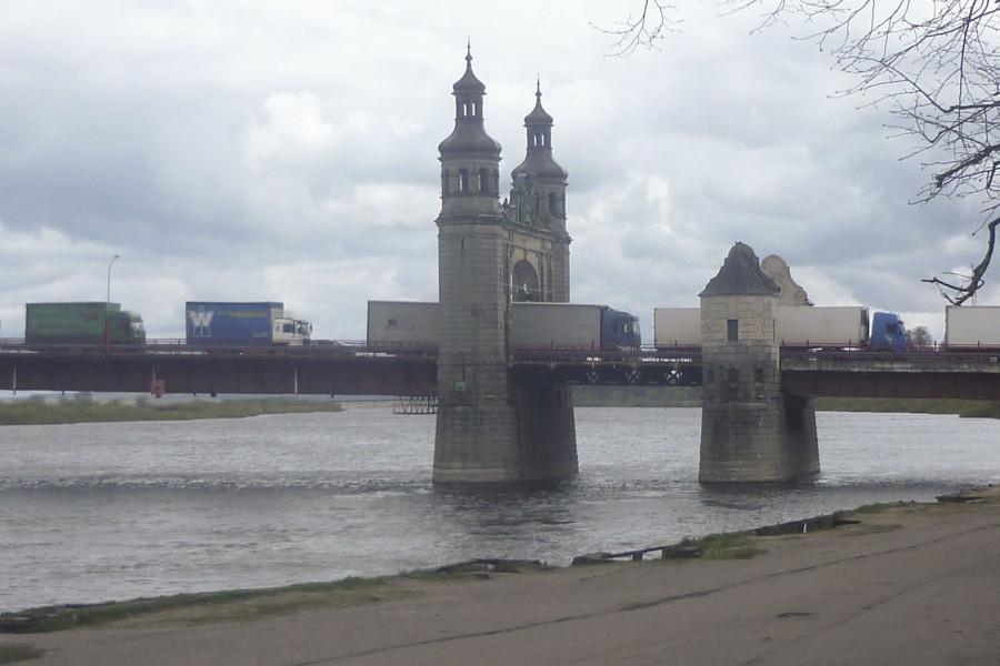 Мост королевы Луизы – на границе с Литвой