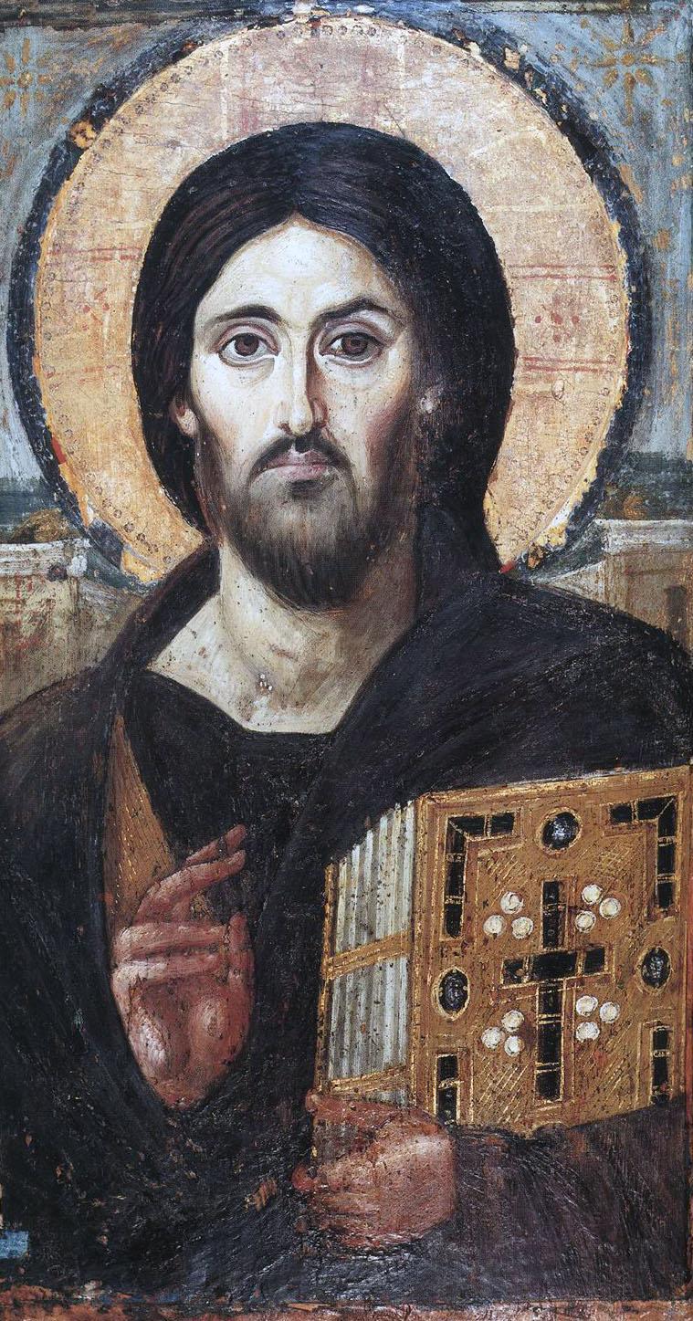 Христос. Монастырь св. Екатерины на Синае. VI-VII в.