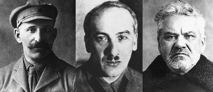 Абрам Беленький, Генрих Ягода, Яков Петерс