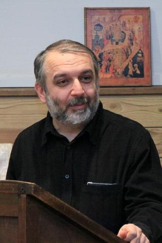Д.М. Гзгзян, проф., канд.филол.н., научный руководитель Николая Клюева и Павла Степанова