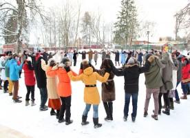 Молодежный Рождественский праздник в русской усадьбе