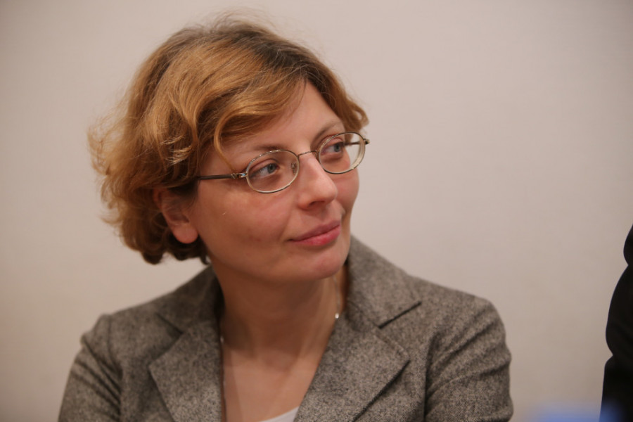 Зоя Дашевская, декан богословского факультета СФИ, старший преподаватель кафедры богословских дисциплин и литургики