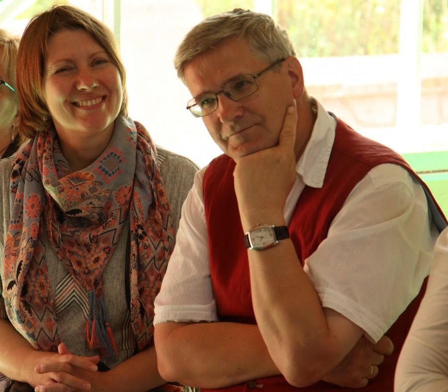 Ольга Синицына и Владимир Лавренов