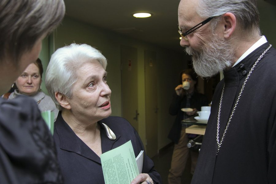 Свящ. Георгий Кочетков и Н. Солженицына