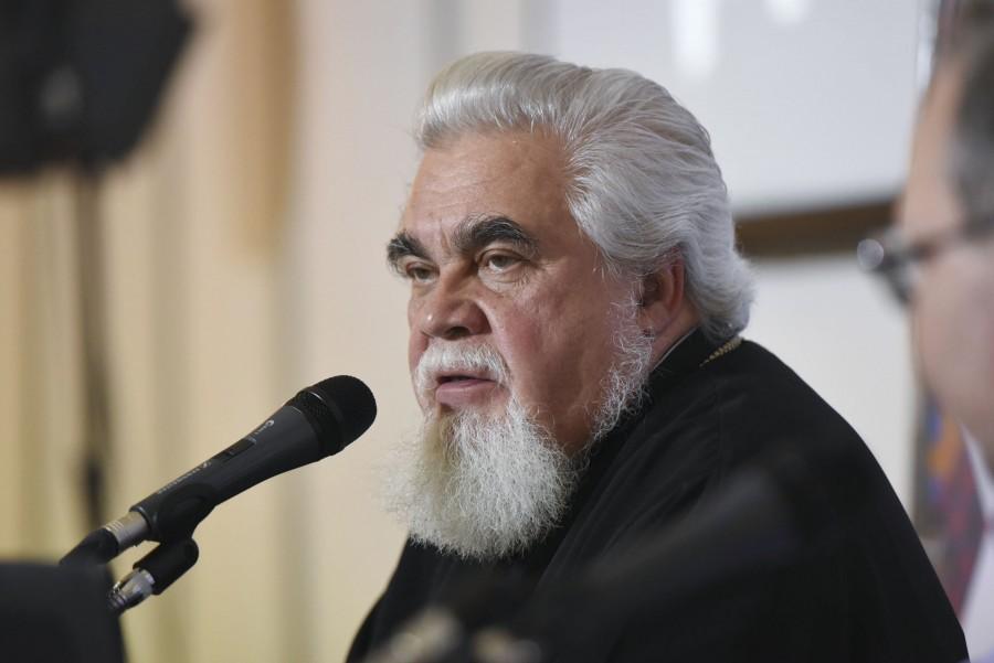 Протоиерей Николай Соколов, член Патриаршего совета по культуре, декан миссионерского факультета ПСТГУ