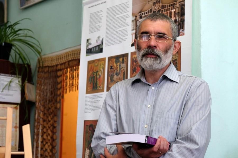 Заведующий кафедрой церковно-исторических дисциплин СФИ Константин Обозный