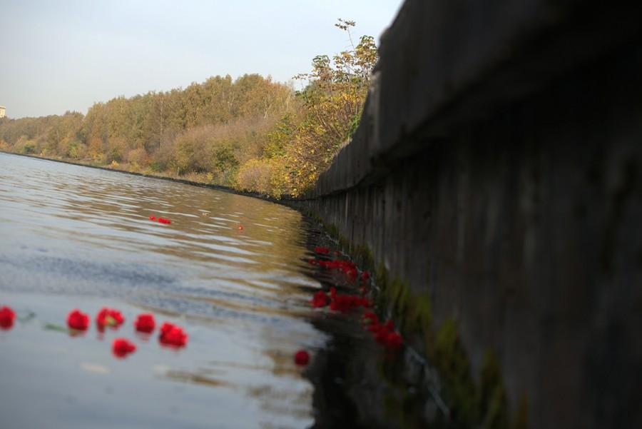 День памяти узников Дмитлага на канале имени Москвы. Фото: Максим Соболев