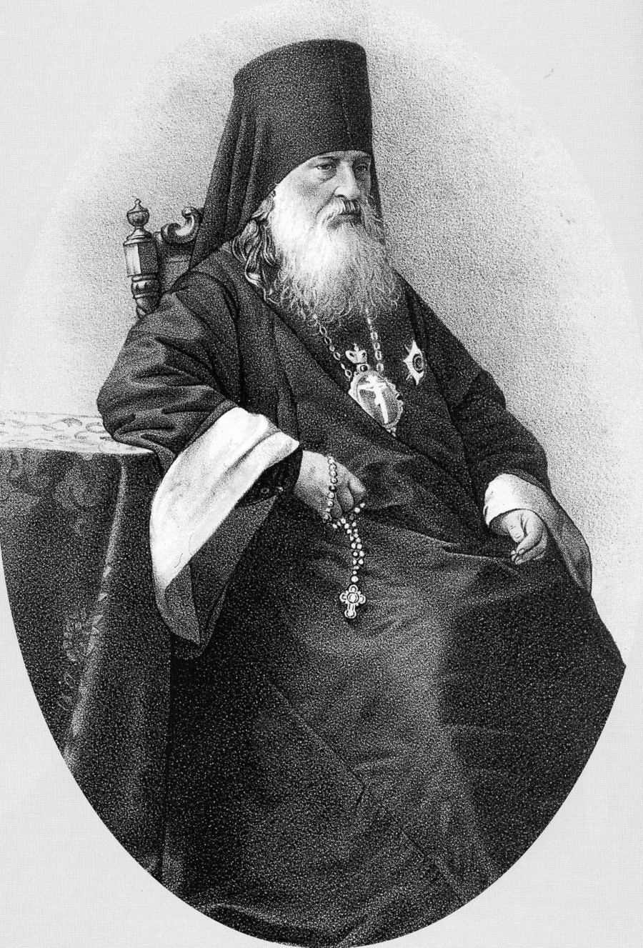 Преподобный Антоний (Медведев), наместник Троице-Сергиевой Лавры