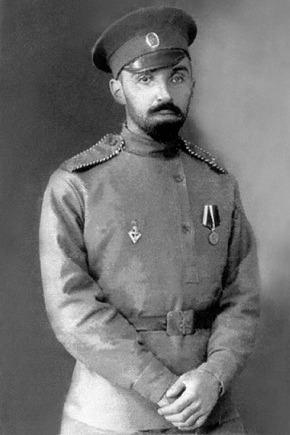 Михаил Владимирович в армии, в которую отправился добровольцем, считая, что он непременно должен принять участие в этой, как он тогда полагал, последней войне на земле. 1913 г.