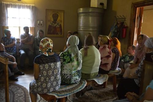 Участники экспедиции «Жить вместе» на встрече с жителями Тверской области