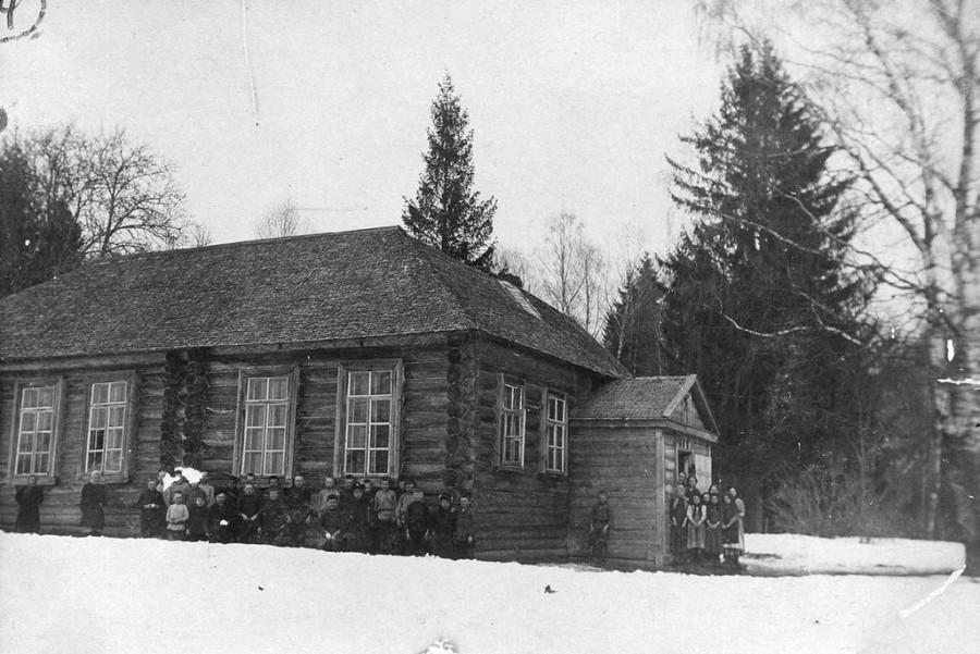Калачевская (дервизовская) школа, 1914 г.