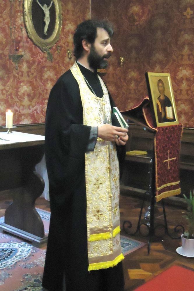 Проповедь свящ. Христофора Д'Алоизио на утрене