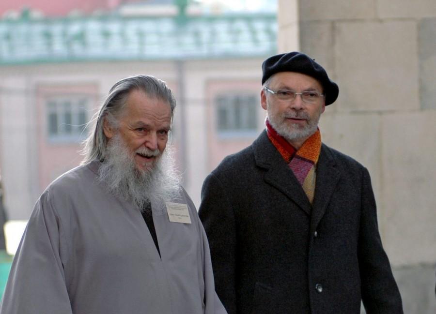 Протоиерей Павел Адельгейм и священник Георгий Кочетков. 2010 год