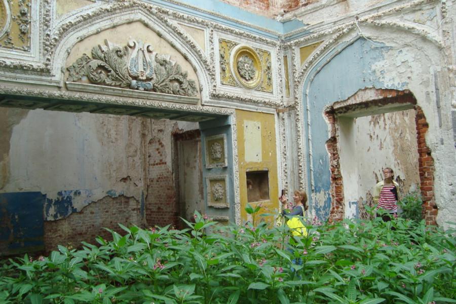 Усадьба Голицыных-Муромцевых, господский дом. Село Пречистое, Смоленская область.