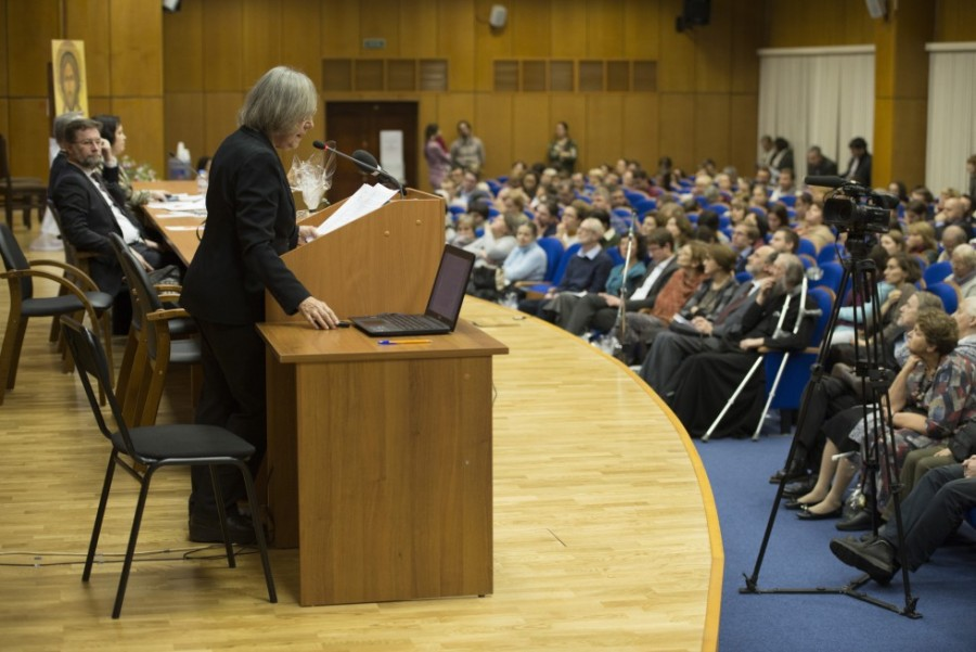 Лекция Галины Зверевой