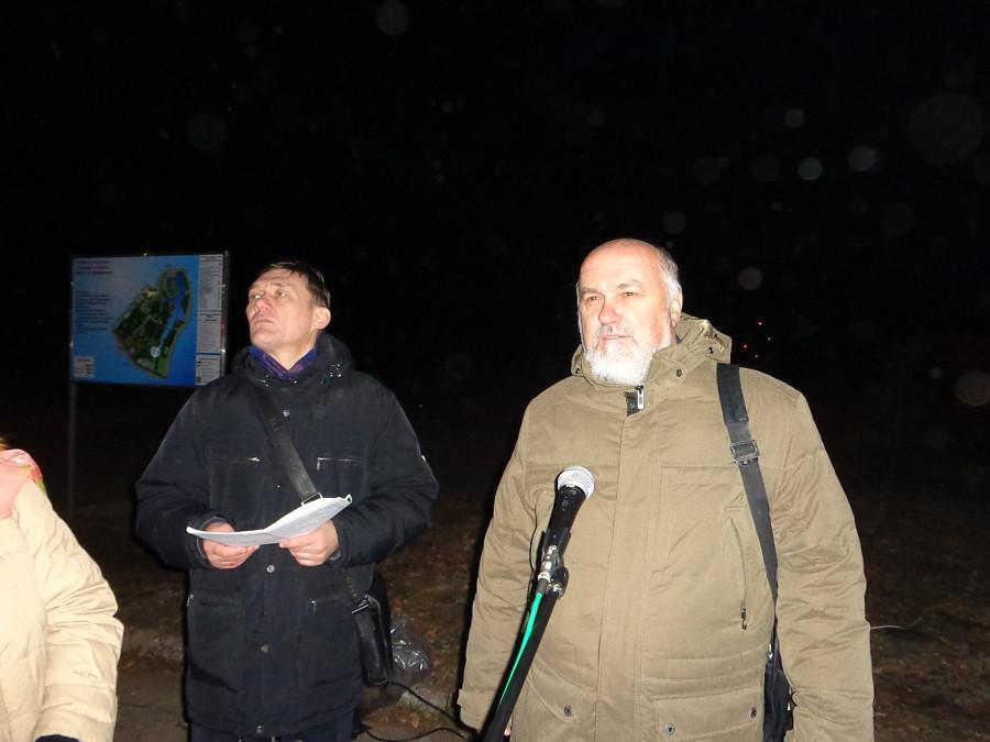Председатель Рязанской ассоциации жертв политических репрессий С.Н. Попов