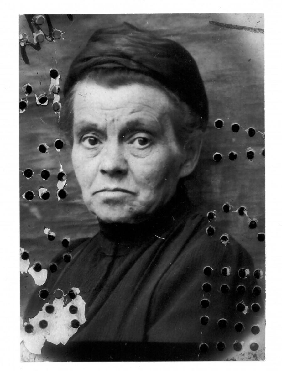 Александра Алексеевна Ершова. 1925 г.
