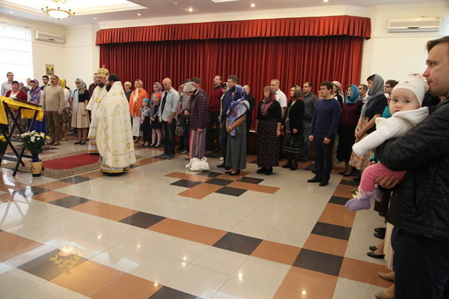 Богослужение в Российском центре науки и культуры в г. Ханое
