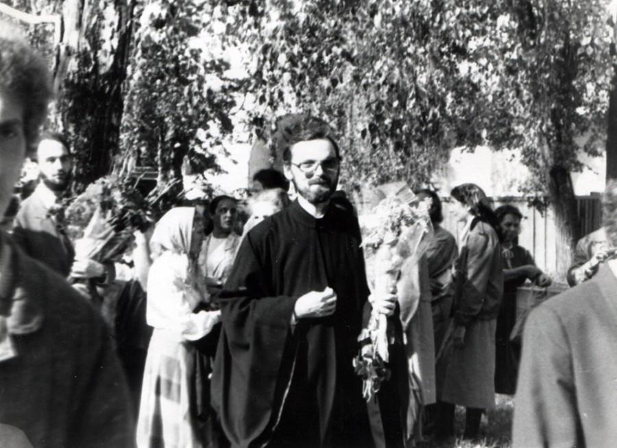 В день священнической хиротонии. Новодевичий монастырь, 24 сентября 1989 года