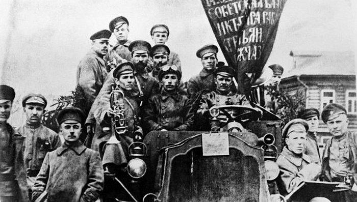 Петроград, октябрь 1917 г.