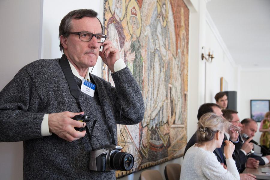 Энрико Леони, член Ассоциации христиан трудящихся Италии (ACLI), глава сектора в Институте мира, развития и инноваций при ACLI (Италия, Мариано Комо)