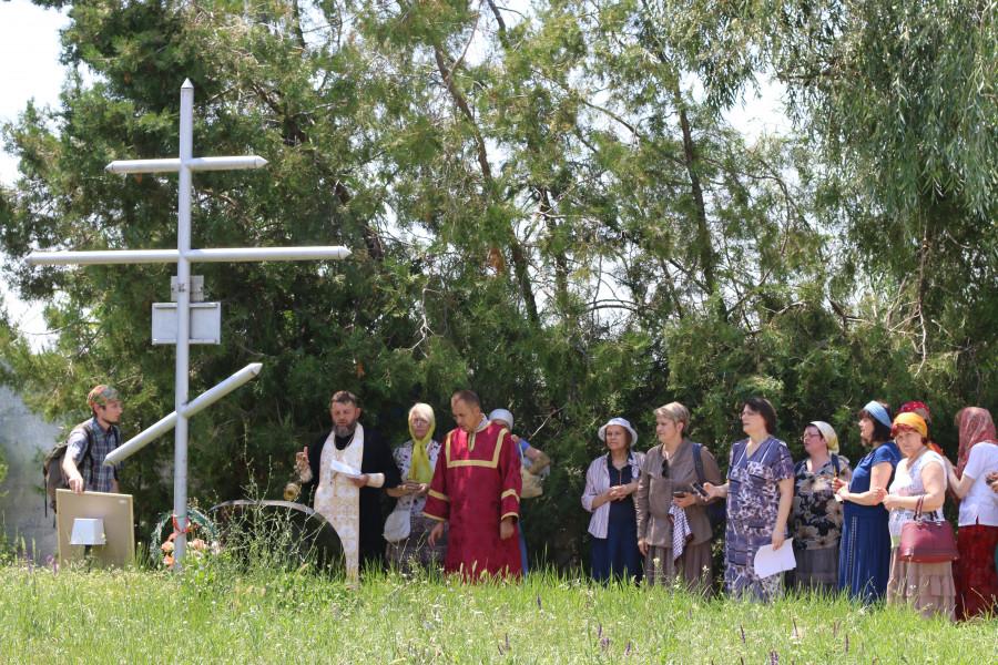 Молитва памяти жертв советских репрессий в Тирасполе