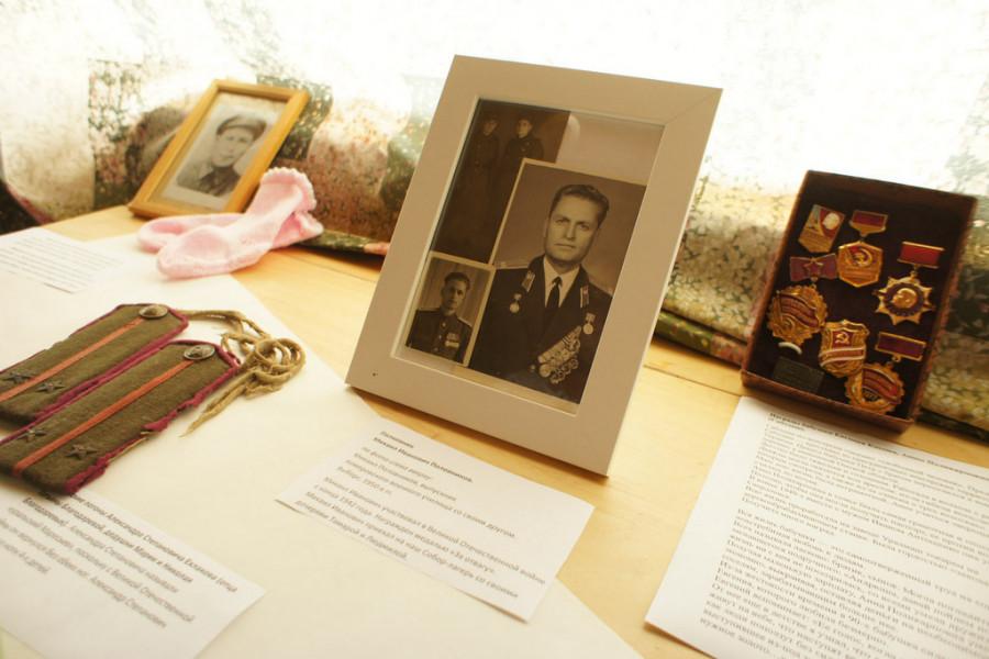 Боевые награды М.И. Половникова