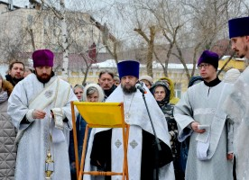Воронежцы почтили память новомучеников и исповедников Церкви Русской