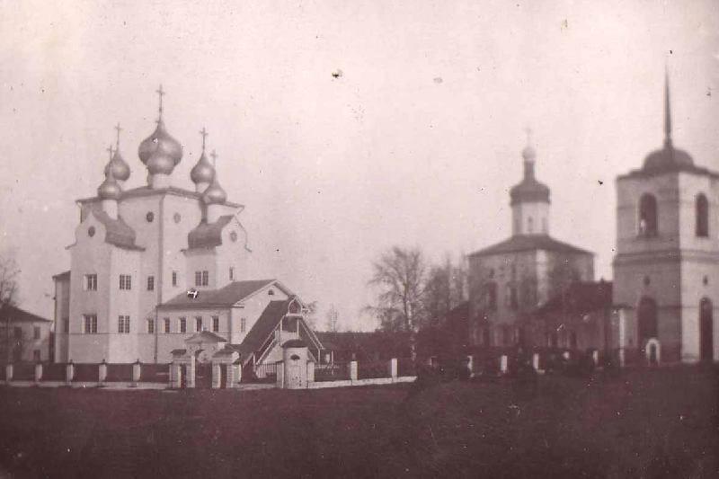 Михайло-Архангельский и Благовещенский соборы, Шенкурск, 1910 г.