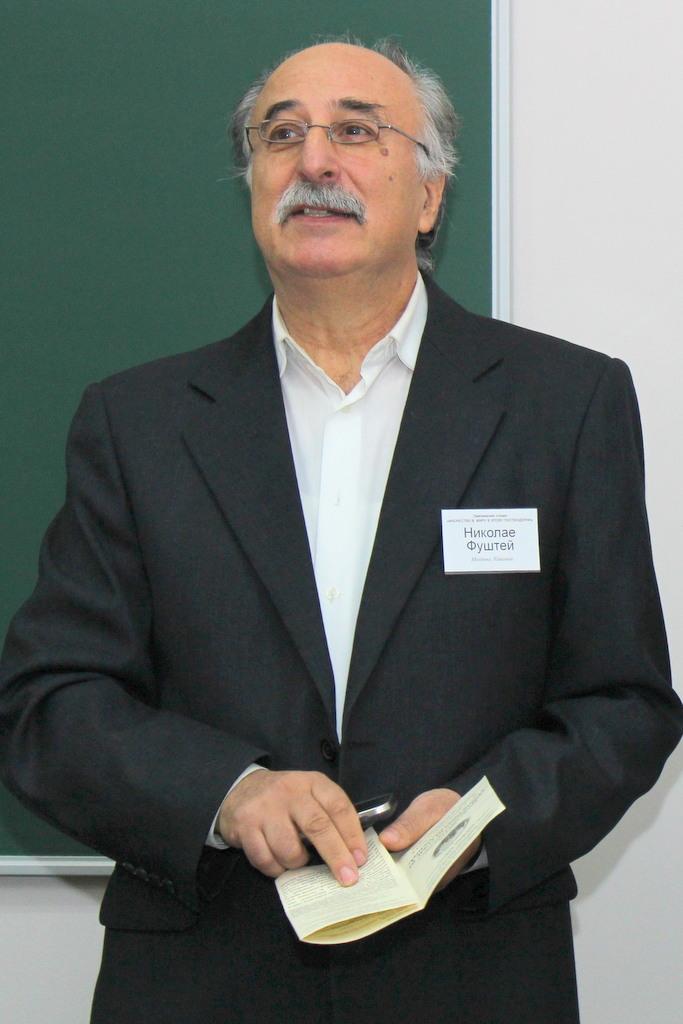 Николай Фуштей, д.богословия, Молдова, Кишинев