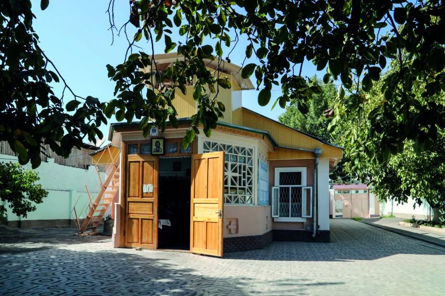 Храм Всех святых города Андижан, настоятелем которого был отец Георгий Ивакин-Тревогин