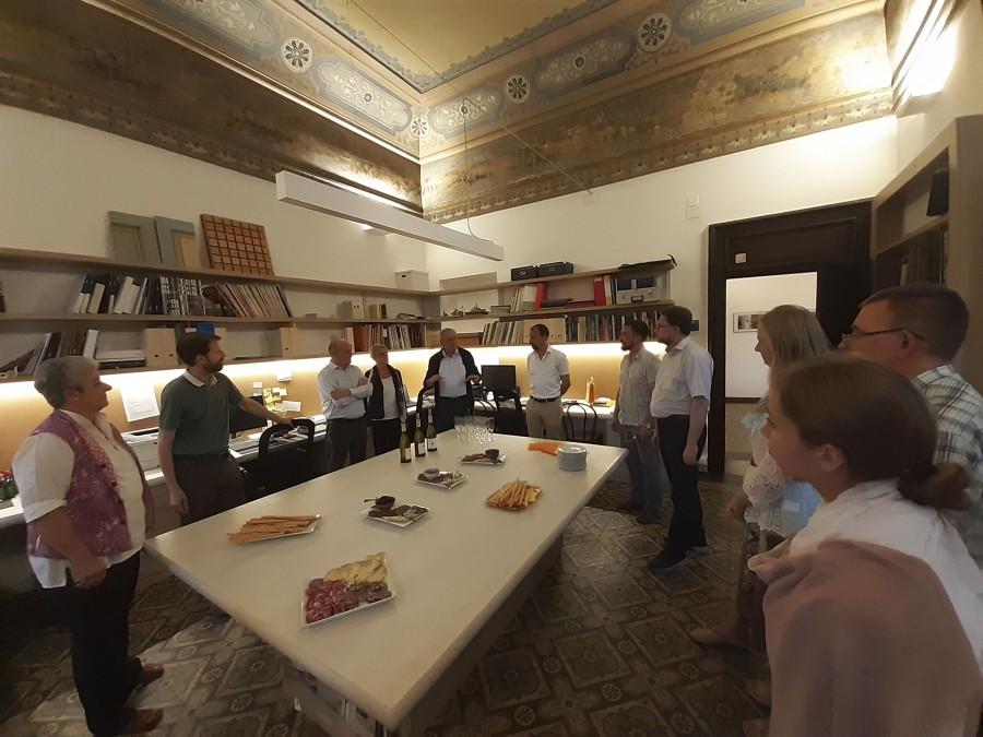 Сердечно приняли нас в Centro Aletti – центре, который создавался для содействия встречи западного и восточного христианства и христианской культуры