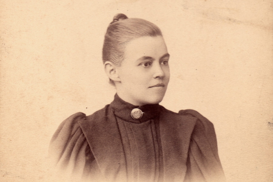 А.А. Штевен-Ершова, 1896 г.