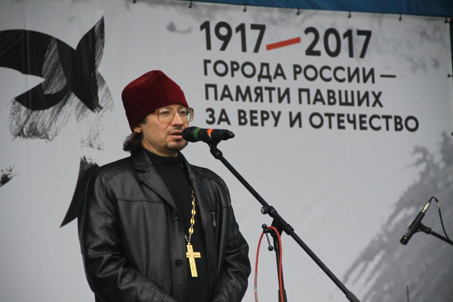 Священник Роман Манилов