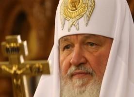 Патриарх Кирилл отказался от подарков в пользу больницы